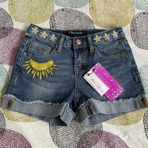 Viggos Girl Shorts Adjustable Waistband size 8